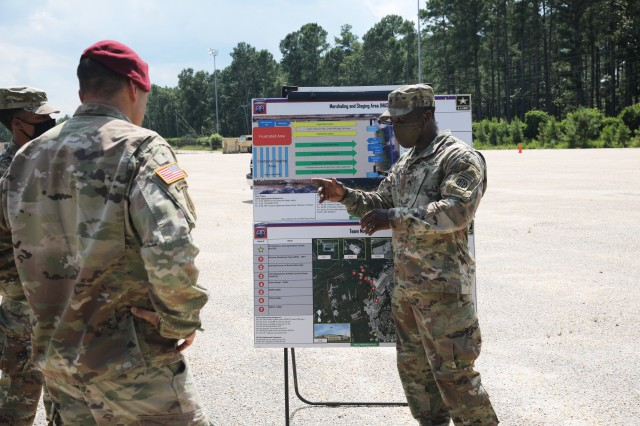 All American 6 tours Fort Bragg Outload Nodes