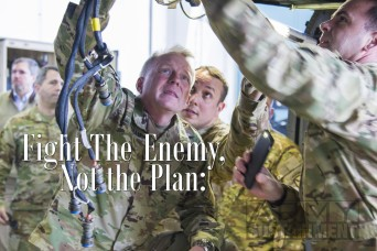 Fight the Enemy, Not the Plan | An Interview with Lt. Gen. Douglas Gabram
