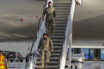 US Soldiers arrive in Poland for DEFENDER-Europe 20 Phase II