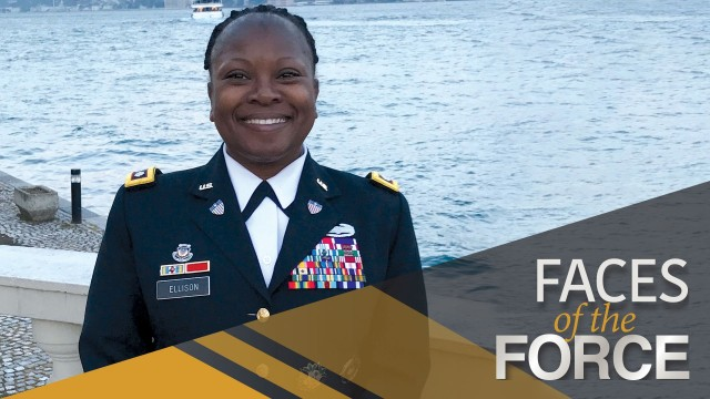 Faces of the Force: Lt. Col. Theresa Ellison