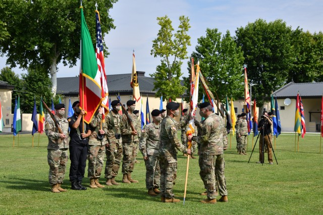 U.S. Army Africa change of command ceremony