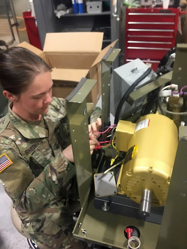 Repairing an oxygen generator