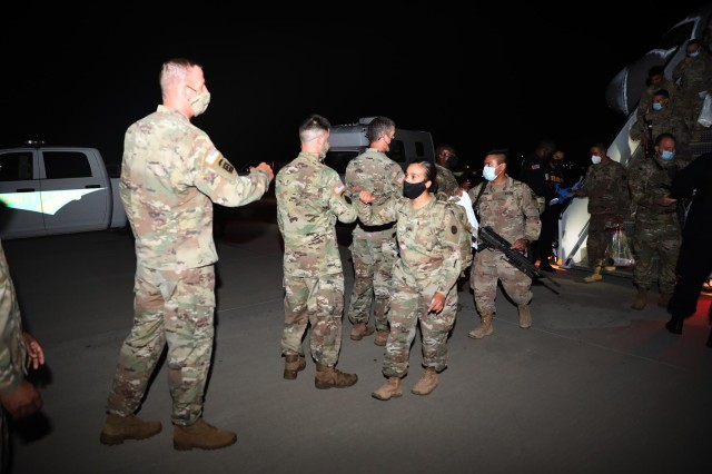 223rd Field Feeding Company returns home from deployment