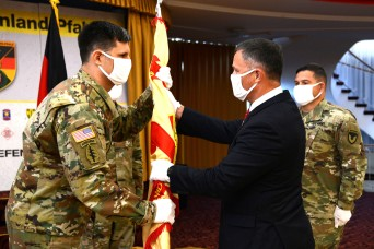 USAG Rheinland-Pfalz welcomes new commander