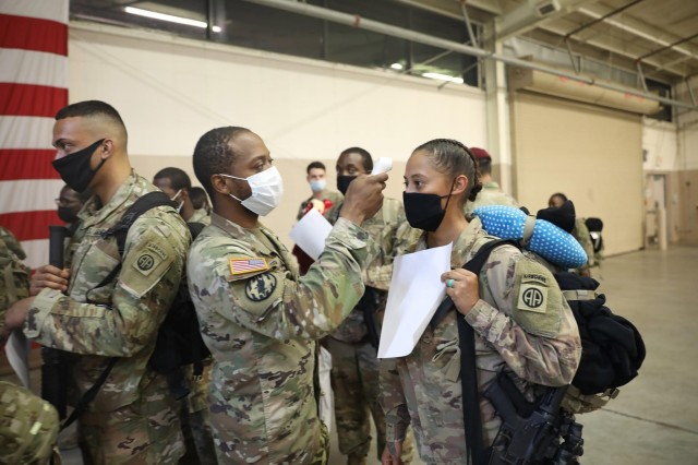 223rd Field Feeding Company returns home after deployment