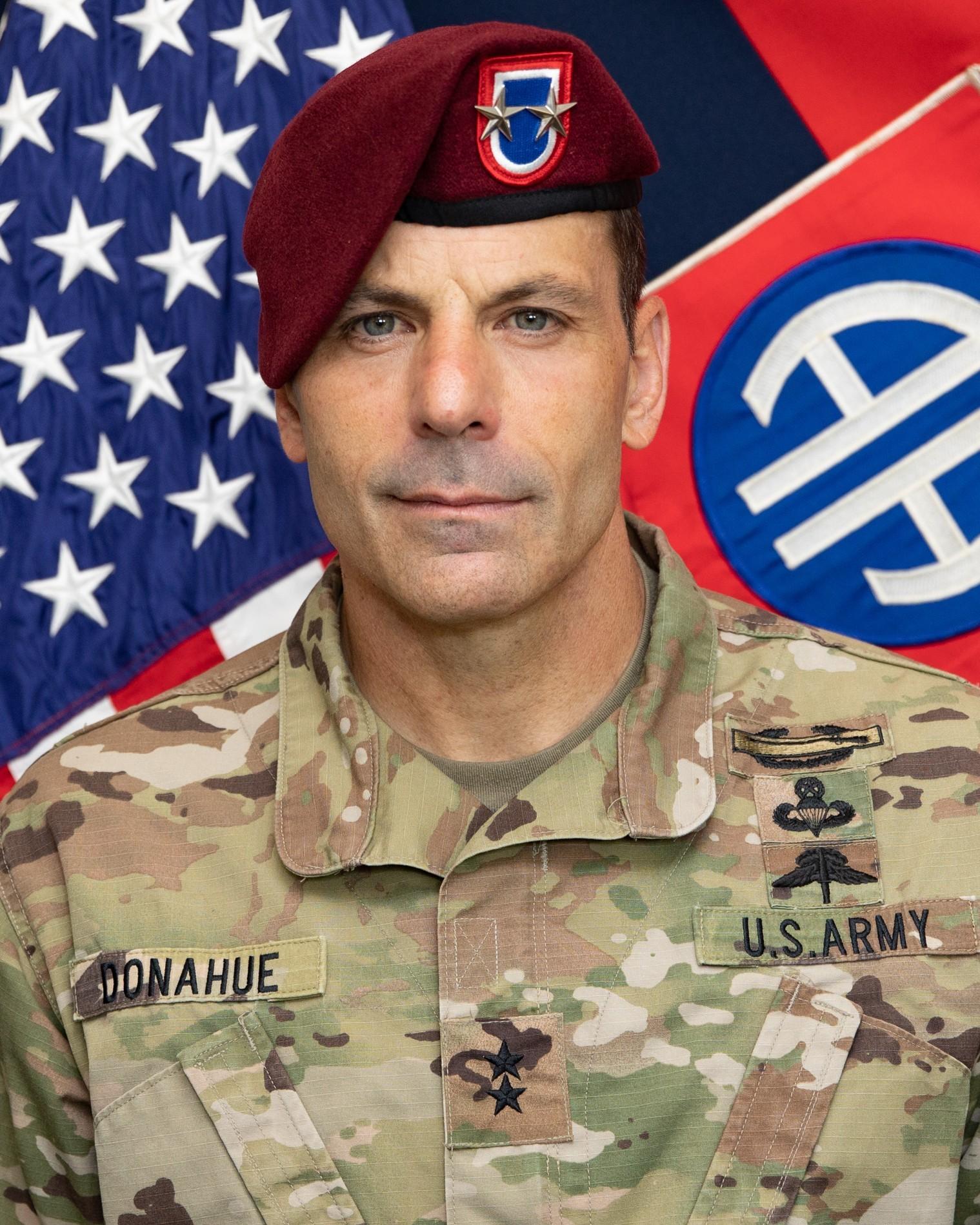 Maj. Gen. Christopher Donahue