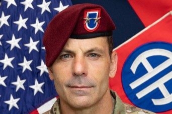Maj. Gen. Christopher Donahue, 82nd Airborne Division Commanding General