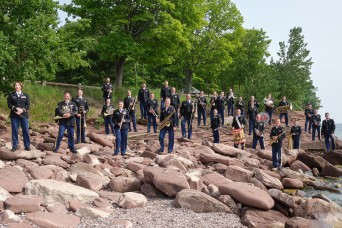 Michigan Guard Band supports communities during COVID-19