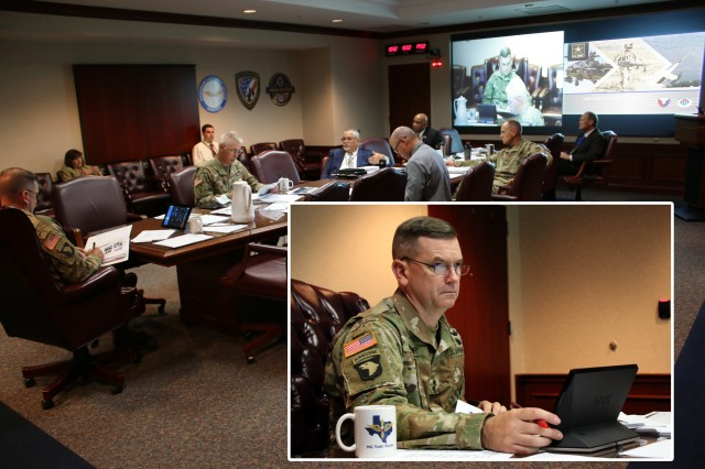 U.S. Army Aviation and Missile Command's Maj. Gen. Todd Royar and other leaders discuss strategy for working with industry partners to increase supply availability and reduce the warfighter maintenance burden during AMCOM's annual Industry Days event, held virtually, July 15-16.