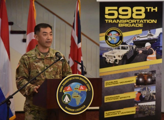 598th Change of Command