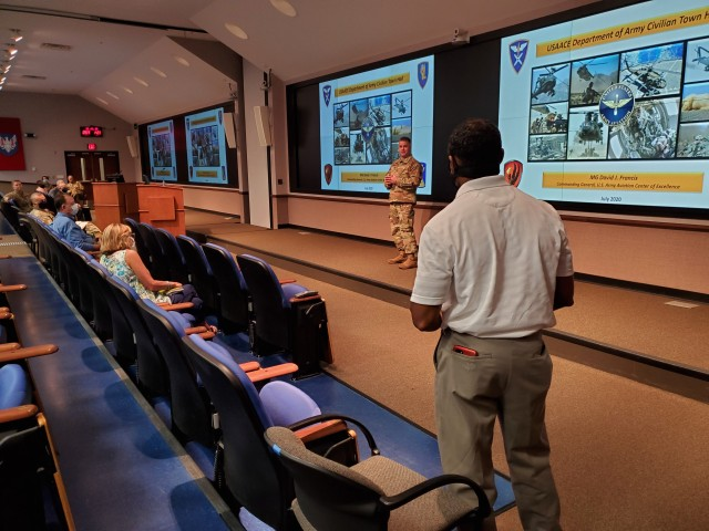 People, mission take priority at USAACE civilian employee town hall
