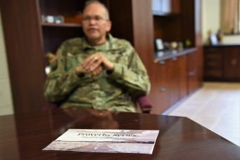 Chaplain encourages Fort Knox congregants to 'build resiliency' through Proverbs series