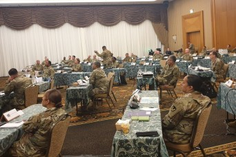 Sgt. Maj. of the Army Michael Grinston virtually visits the Senior Enlisted Symposium