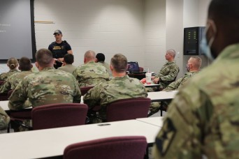 35th Military Police train with Kansas Highway Patrol