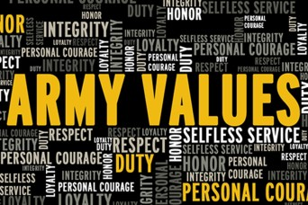 Army Values begin with loyalty, sustain readiness mission