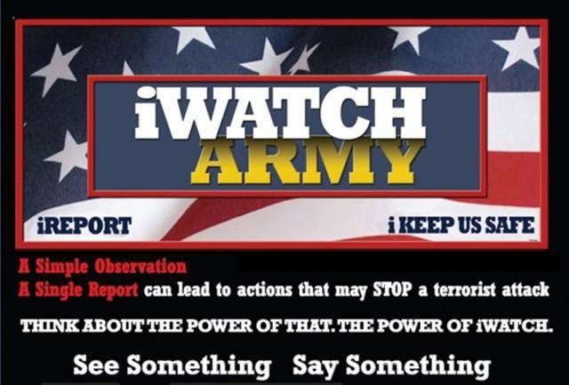 August is Antiterrorism Awareness Month