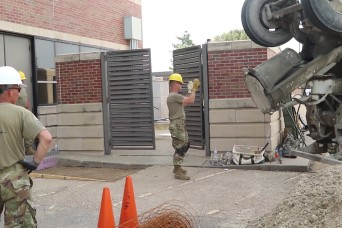 226th Engineers use annual training as opportunity to build