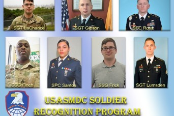 SMDC senior enlisted leader recognizes outstanding Soldiers