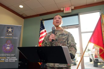 Fort Sill chaplain finds his calling serving Soldiers