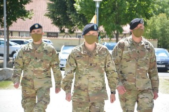 USAG Bavaria's HHC welcomes new first sergeant