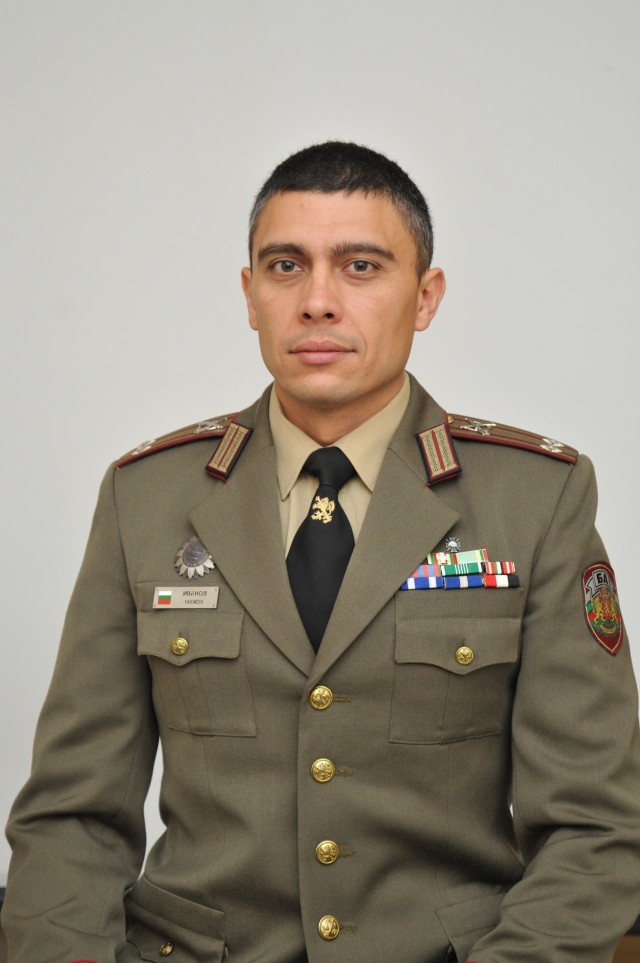Lt. Col. Ivanov received his commission in 2000 as a Second Lieutenant from the National Military University and prior to his arrival at Carlisle Barracks, he was assigned as Commanding Officer, 42nd Mechanized Battalion.