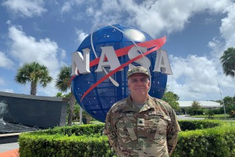 Army Reserve officer credits Army training with his success in aerospace career