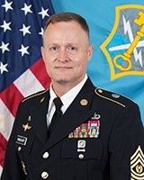 Command Sgt. Maj. William M. Rinehart