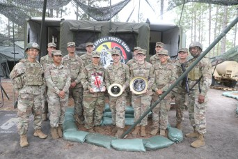 3rd Special Forces Group Wins Active Field Feeding Category of the 52nd Philip A. Connelly Award