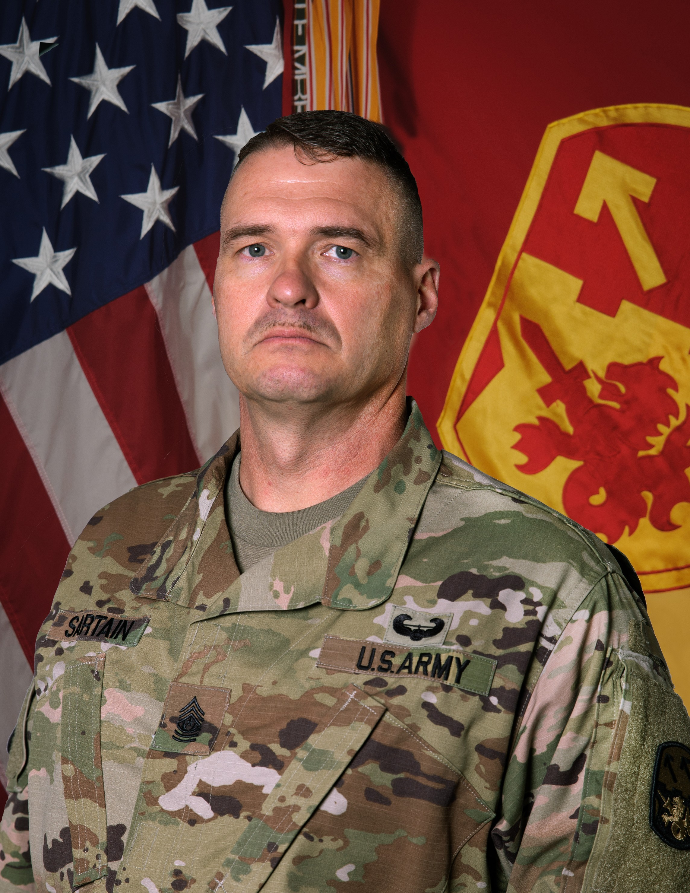 Command Sgt. Maj. Neil H. Sartain