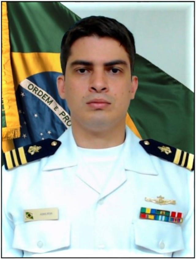 Brazilian Navy Lt. Cmdr. Adelton Ferreira Dias is an instructor with the Western Hemisphere Institute for Security Cooperation, located at Fort Benning, Georgia. Ferreira Dias won the 2020 TRADOC Active Duty Officer Instructor of the Year Award. (Courtesy Photo)