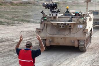 Robotic combat vehicles display next-gen features in live-fire exercises