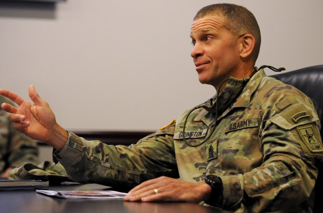 Sergeant Major of the Army emphasizes quality of life during visit to Redstone Arsenal