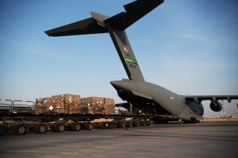 US delivers humanitarian aid to Beirut