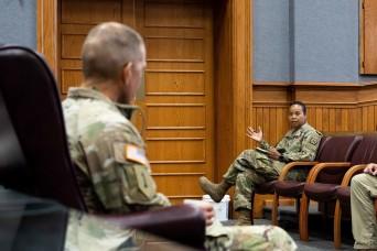 SMA solicits candid feedback during Ft. Leavenworth visit