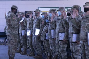 Desert Rogues welcome noncommissioned officers