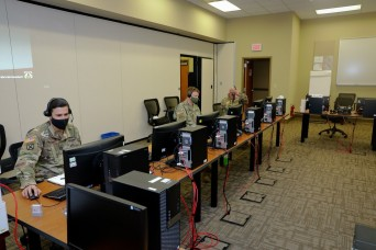 To help develop robotic combat vehicle, experts at Fort Benning run futuristic computer simulation experiment