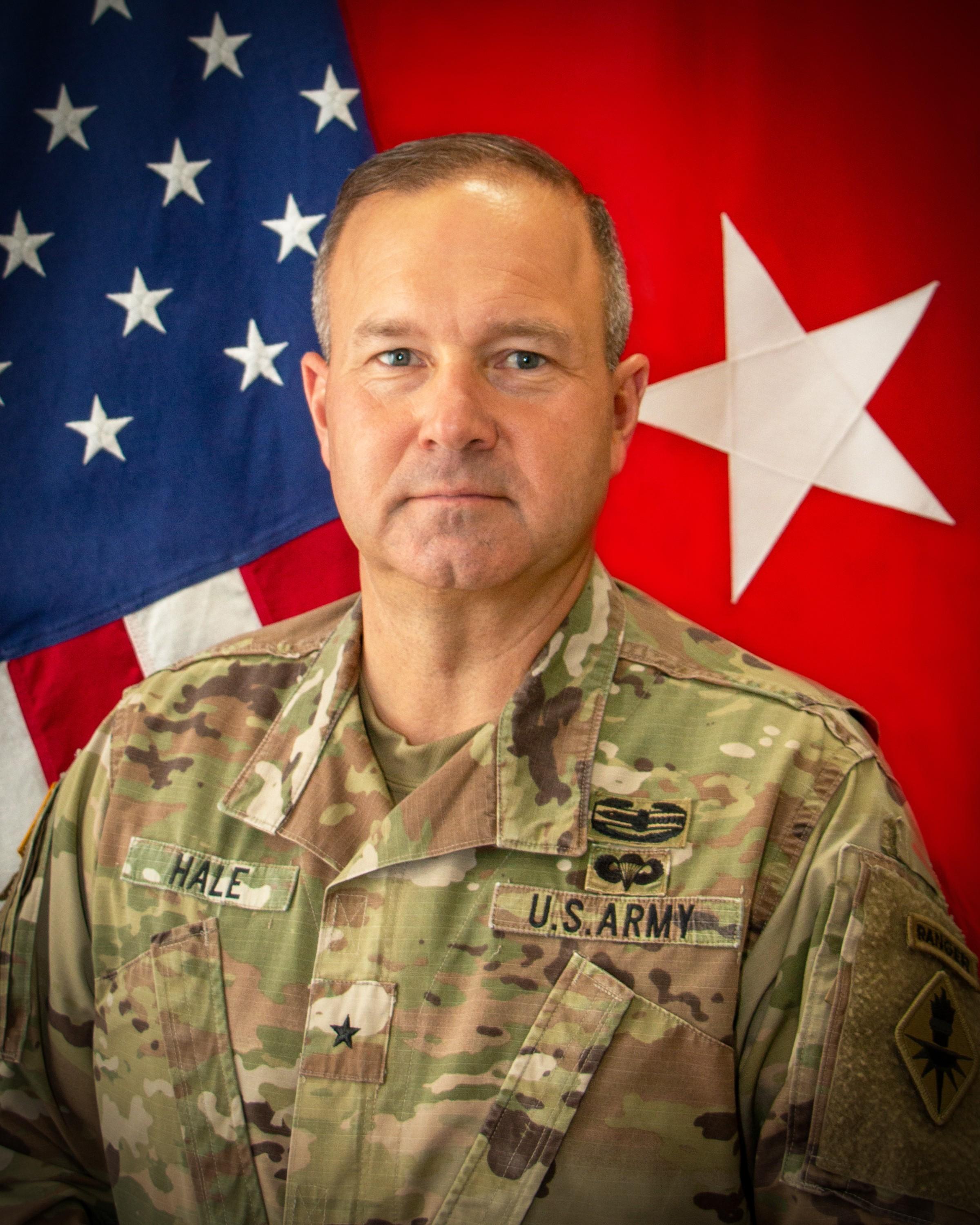 Brig. Gen. Anthony R. Hale