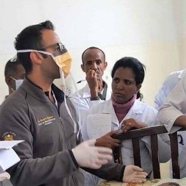 Army oral surgeon part of medical deployment to Ethiopia