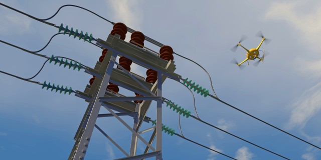 The development goal is to see significant improvement in the safe usage of UASs in close proximity to power lines and power grids.