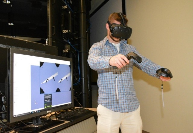 Army researchers run ParaView on HTC Vive to directly interact with their data within a virtual environment.