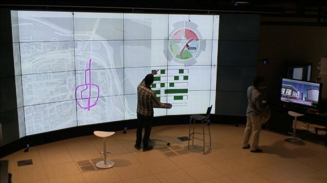 The Army's SyncVis application supports both 2-D and 3-D data visualization to provide a unified data exploration experience.