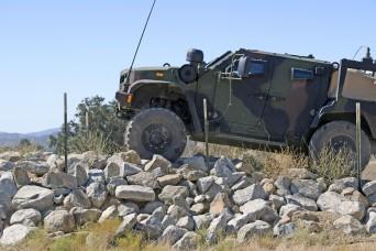 JLTV Operator Course Opens at Fort Hunter Liggett