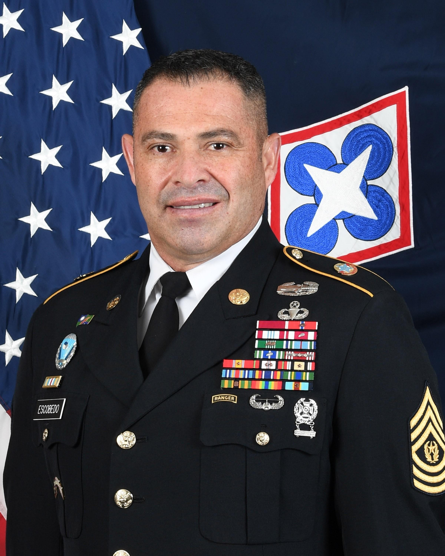 Command Sgt. Maj. Jorge C. Escobedo
