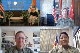 Pioneering female leaders discuss ways to improve equality in Army