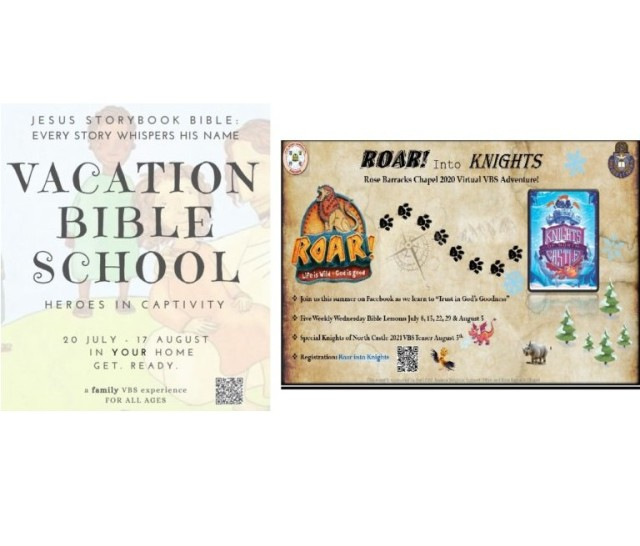 Vacation Bible School Flyers