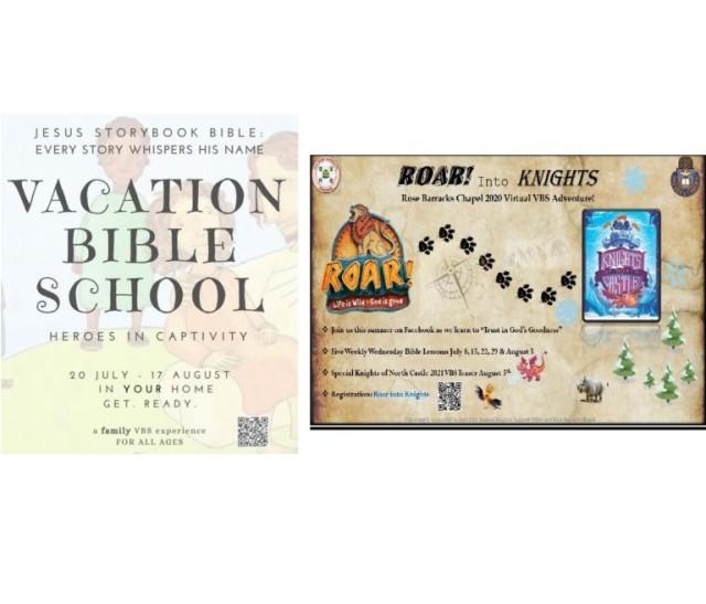Vacation Bible School Flyers