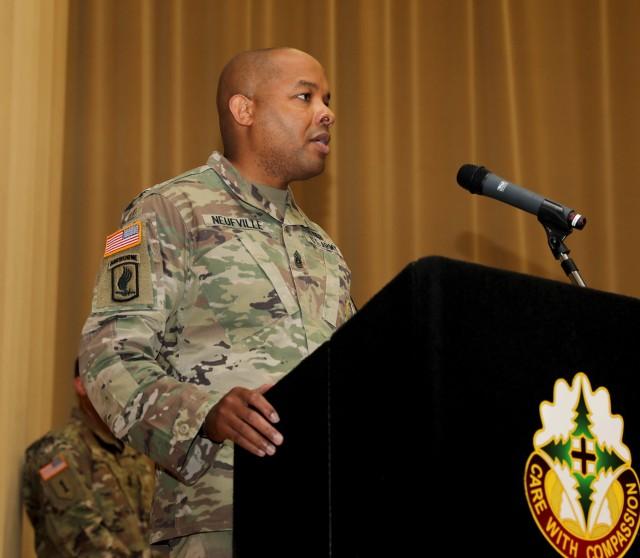 RHC-P CSM at NCO Ceremony