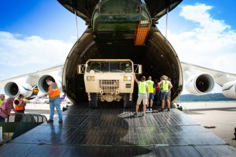 Army depot supports materiel shipment at Harrisburg International Airport