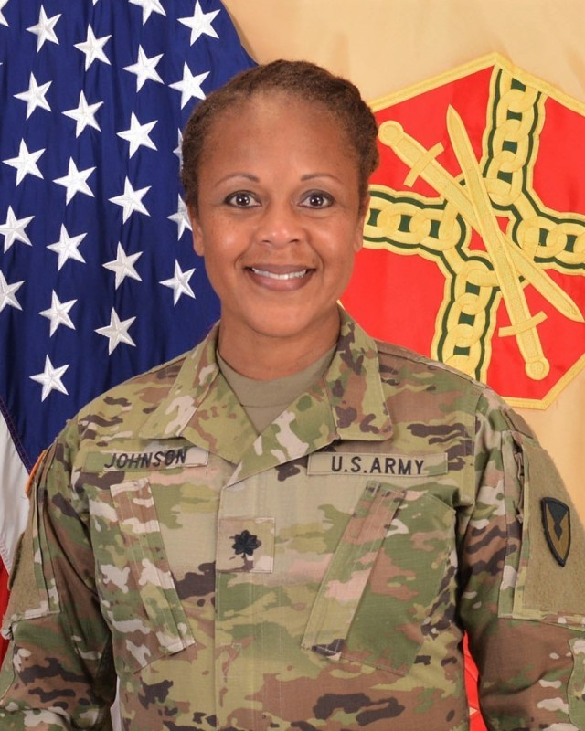 Lt. Col. Serena Johnson made history by becoming the first African American garrison commander of Parks Reserve Forces Training Area on June 19, 2020.