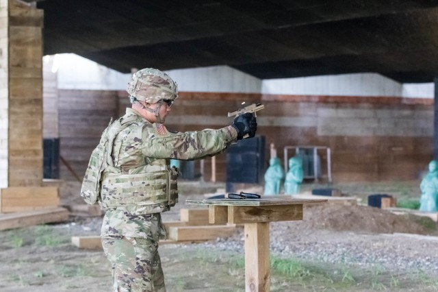 Eighth Army Soldiers compete in USARPAC Best Warrior Competition
